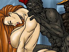 interracial comics bbc impenetrable..