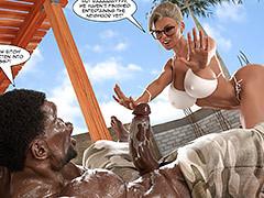 interracial comics bbc deep throat..