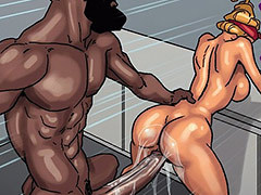 interracial comics bbc deep throat..
